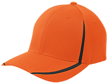 Fowler School Tigers Flexfit Colorblock Cap