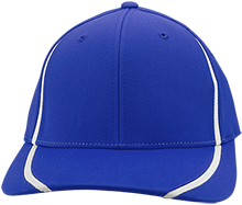 Brethren Elementary School Eagles Flexfit Colorblock Cap
