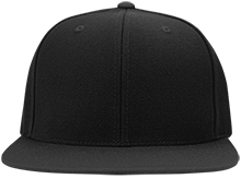 DESIGN YOURS Flat Bill High-Profile Snapback Hat