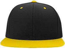 Del Val Wrestling Wrestling Flat Bill High-Profile Snapback Hat