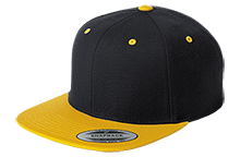 Don Cecilo Martinez Elementary School Tigers Flat Bill High-Profile Snapback Hat