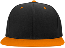 Malverne High School Flat Bill High-Profile Snapback Hat