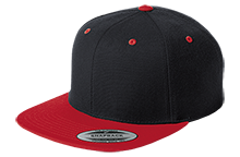Baker Elementary School Braves Flat Bill High-Profile Snapback Hat