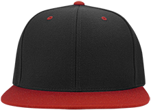 Espanola Elementary School Red Birds Flat Bill High-Profile Snapback Hat