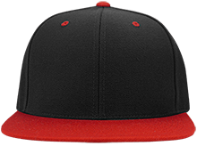 Meskwaki High School Warriors Flat Bill High-Profile Snapback Hat