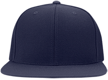 Buffalo County District 36 School School Flat Bill High-Profile Snapback Hat