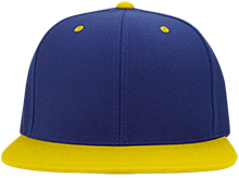 Omaha North High School Vikings Flat Bill High-Profile Snapback Hat