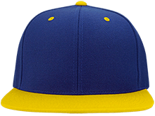 CADA Athletics Flat Bill High-Profile Snapback Hat