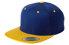 Hopewell Memorial Junior High School Vikings Flat Bill High-Profile Snapback Hat