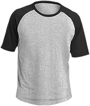 Curling Adult SS Colorblock Raglan Jersey
