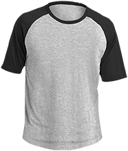 School Adult SS Colorblock Raglan Jersey