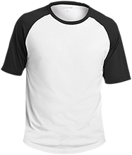 Western Elementary School Minute Men Adult SS Colorblock Raglan Jersey