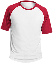 Keyport High School Raiders Adult SS Colorblock Raglan Jersey