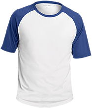Stewart Quitman Middle School Knights Adult SS Colorblock Raglan Jersey