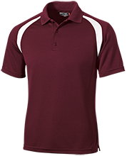 Nutley High School Maroon Raiders Moisture-Wicking Tag-Free Golf Shirt