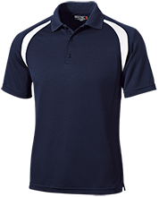 Earle B Wood Middle School Mustangs Moisture-Wicking Tag-Free Golf Shirt