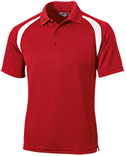 The Heritage High School Hawks Moisture-Wicking Tag-Free Golf Shirt