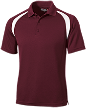 Breast Cancer Moisture-Wicking Tag-Free Golf Shirt