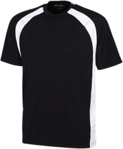 Lawrence School Leopards Mens Performance Colorblock T-Shirt