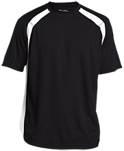 Design yours Football Mens Performance Colorblock T-Shirt