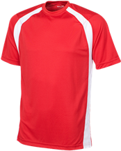 North Quincy High School Red Raiders Mens Performance Colorblock T-Shirt