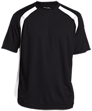 Curling Mens Performance Colorblock T-Shirt