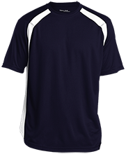 North Sunflower Athletics Mens Performance Colorblock T-Shirt