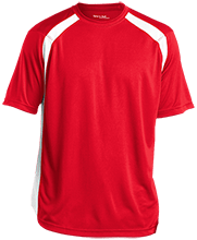 Riceville Elementary Middle School Wildcats Mens Performance Colorblock T-Shirt