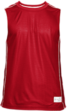 Milton Middle School Red Wings Adult Mesh Sleeveless T-Shirt