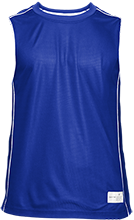 Churchill Junior High School Blue Streaks Adult Mesh Sleeveless T-Shirt