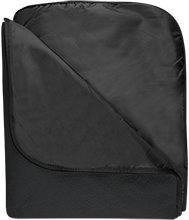 Allen Creek Elementary Crickets Fleece & Poly Travel Blanket