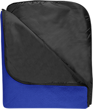 Decatur MacArthur High School Generals Fleece & Poly Travel Blanket