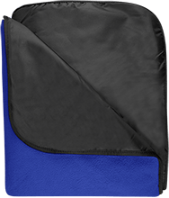 Malverne High School Fleece & Poly Travel Blanket