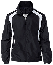Manchester East Soccer Tall Personalized Jersey-Lined Jacket
