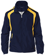 Del Val Wrestling Wrestling Tall Personalized Jersey-Lined Jacket