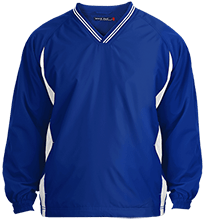 Islesboro Eagles Athletics Tall Tipped V-Neck Wind shirt