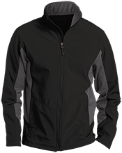 Unity Thunder Football Tall Colorblock Soft Shell Jacket