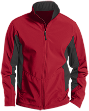 Meskwaki High School Warriors Tall Colorblock Soft Shell Jacket