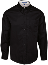 Manchester East Soccer Tall Custom Long Sleeve Dress Shirt