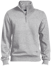 Lamont Christian School Tall Quarter-Zip Embroidered Sweatshirt