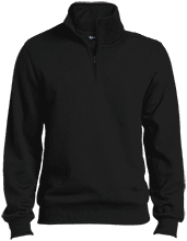 Manchester East Soccer Tall Quarter-Zip Embroidered Sweatshirt