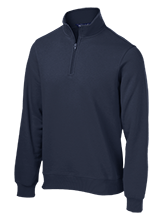 Maranatha Baptist Academy Crusaders Tall Quarter-Zip Embroidered Sweatshirt