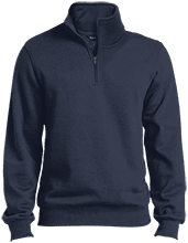 Del Val Wrestling Wrestling Tall Quarter-Zip Embroidered Sweatshirt