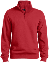 North Sunflower Athletics Tall Quarter-Zip Embroidered Sweatshirt