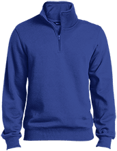 Islesboro Eagles Athletics Tall Quarter-Zip Embroidered Sweatshirt