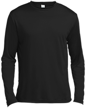 Clearwater-Orchard Cyclones Tall Long Sleeve Moisture Absorbing Shirt