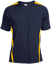 Aquinas High School Blugolds Tall Colorblock Competitor Tshirt