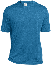 Tall Heather Dri-Fit Moisture-Wicking T-Shirt