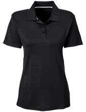 Miles Exploratory Learning Center Mustangs Team 365 Ladies Solid Performance Polo