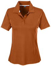 Amity Elementary School Groundhogs Team 365 Ladies Solid Performance Polo